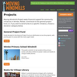 Moving Windmills Project