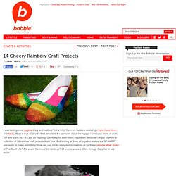 14 DIY Projects With Rainbows | The New Home Ec
