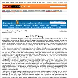 Projekt Gutenberg-DE - SPIEGEL ONLINE - Nachrichten - Kultur