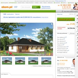 DOM.PL™ - Projekt domu AN Lena z ogrzewaniem na paliwo stałe CE - DOM AO6-30