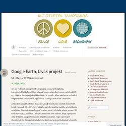 Google Earth, tavak projekt « BYOD, IKT, Office 365, Teams, Socrative, okostelefon, oktatás, ötletek