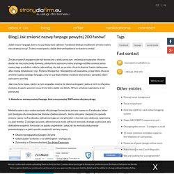 Strony Dla Firm.eu: Projektowanie stron www, pozycjonowanie, hosting: Cieszyn, Ustroń, Wisła, Skoczów