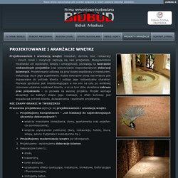 Projektowanie i aranżacje wnętrz mieszkań, biur, restauracji