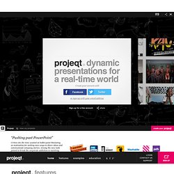 dynamic presentations for a real-time world