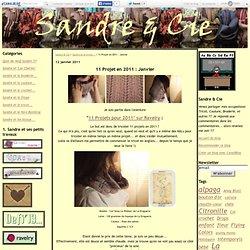 11 Projet en 2011 : Janvier - Sandre & Cie
