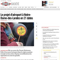 Le projet d'aéroport à Notre-Dame-des-Landes en 21 dates