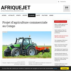 Projet d'agriculture commerciale au Congo