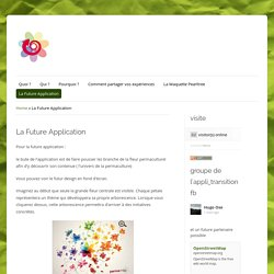 Projet : La future application Permamap