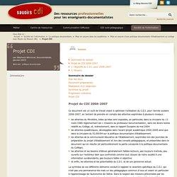 Construire son projet de CDI: tous les conseils de Savoirs CDI