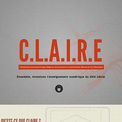 Projet CLAIRE