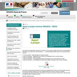 Appel à projet commun DRJSCS - DDCS - DRJSCS Hauts-de-France