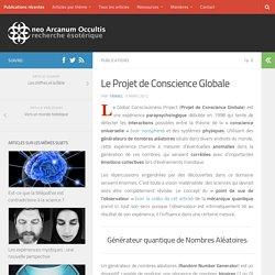 Le Projet de Conscience Globale