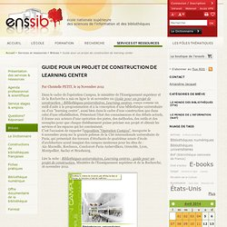 Guide pour un projet de construction de learning center