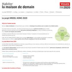 Construire la maison de demain - Maison Air et Lumière - VELUX - Model Home 2020