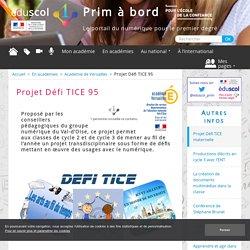 Projet Défi TICE 95