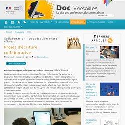 Projet d'écriture collaborative - Lycée pro_Documentation