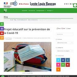 Projet éducatif sur la prévention de la Covid-19