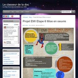 Projet EMI Etape 6 Mise en oeuvre
