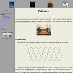 Projet eolienne - Alternateur