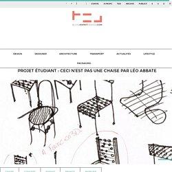 Léo Abbate-Ceci n'est pas une chaise
