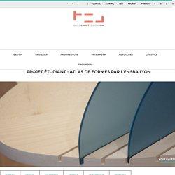Projet étudiant : Atlas de formes par l'ENSBA Lyon - Blog Esprit Design
