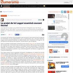 Le projet de loi Loppsi examiné courant février - Numerama