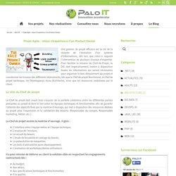 PALO IT – Projet Agile : retour d'expérience d'un Product Owner