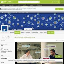 Chef de projet SI chez AXA en France