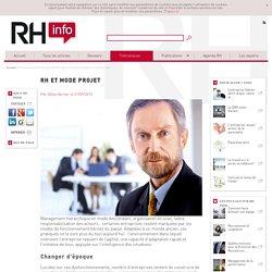 La RH, mode projet et gestion de la performance