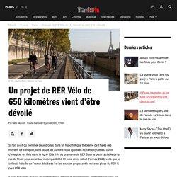 Projet de RER Vélo de 650 kilomètres