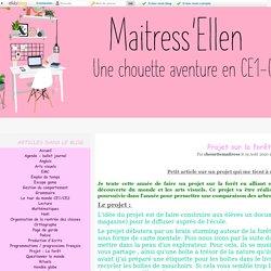 Projet : La forêt - Maitress'Ellen