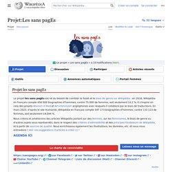 Projet:Les sans pagEs