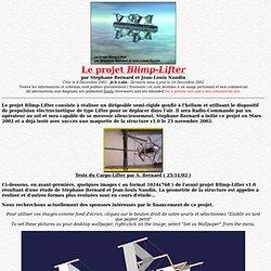 Le projet Blimp-Lifter par Stéphane Bernard et Jean-Louis Naudin