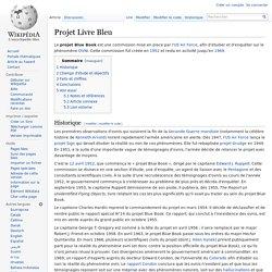 Projet Livre Bleu