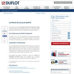 Le projet de loi ALUR adopté - Loi-Duflot.fr