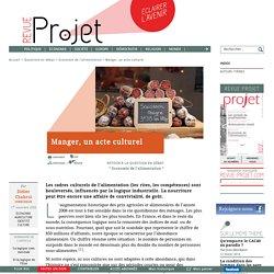 SLOWFOOD 02/11/08 Manger, un acte culturel