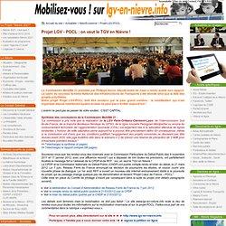 Projet LGV - on veut le TGV en Nièvre : installation du Comité de pilotage le 03/10