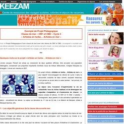 Projet pédagogique - Classe de mer - CM1 CM2 Cycle 3 l Keezam