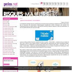 """Projet pédagogique """"L'Ecole Météo"""""""