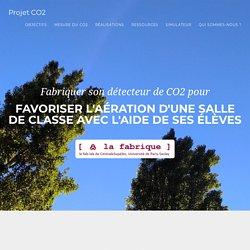 Projet CO2 - Faire prendre l'air à vos salles de classe