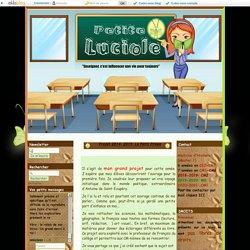 Projet 2014- 2015: Le Petit Prince - PETITE LUCIOLE