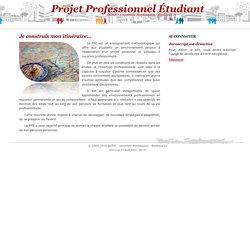 Projet Professionnel Étudiant