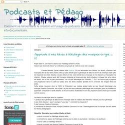 Podcasts et Pédago: projet radio 6°