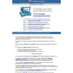 TIC et projet de recherche d'information