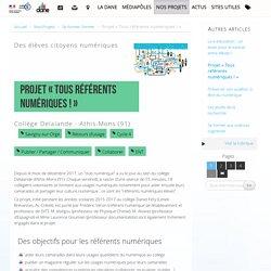 Projet « Tous référents numériques ! »