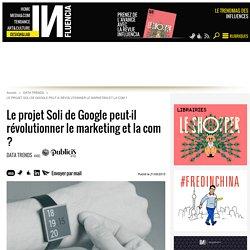 Le projet Soli de Google peut-il révolutionner le marketing et la com ?