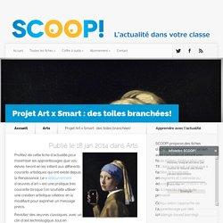 Projet Art x Smart : des toiles branchées!