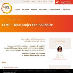 ECMS - Mon projet Éco-Solidaire