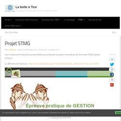 Projet STMG – La boîte à Tice
