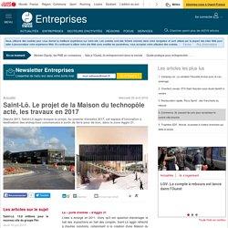 Saint-Lô. Le projet de la Maison du technopôle acté, les travaux en 2017
